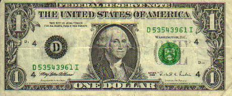 spielgeld dollar